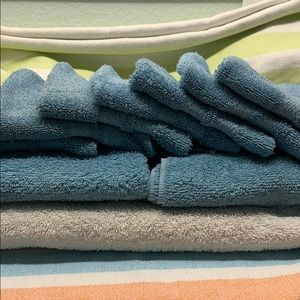 Bath towels-used-great quality w/ much more wear!